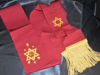 OSM 1st Degree Sash with Symbol
