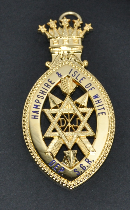 OSM Provincial Deputy / Supreme Grand Ruler Collarette Jewel