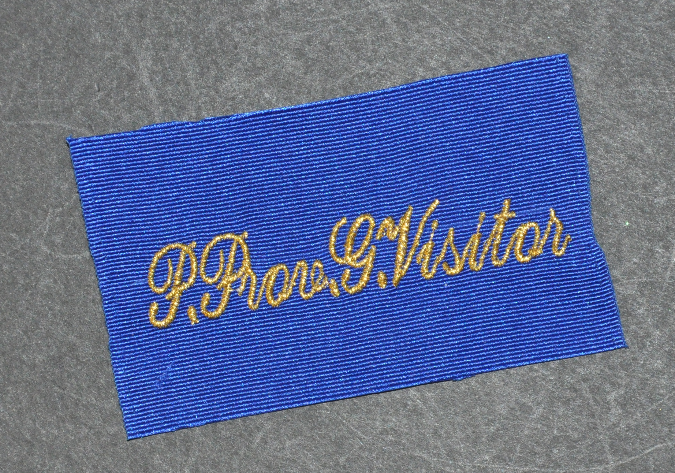 OSM Provincial Patch - Embroidered (Loose)
