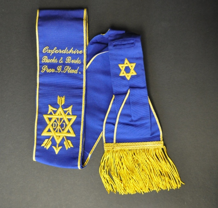 OSM Provincial Sash - Hand Embroidered