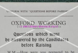Oxford Working - Raising Question Card