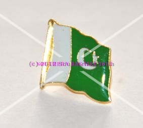 Pakistan Flag Enamel Lapel Pin Badge