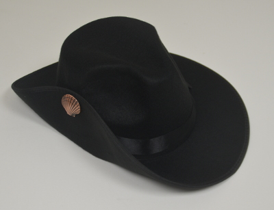 Pilgrims Hat (Black)