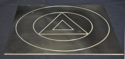 Royal Arch Altar Top Brass