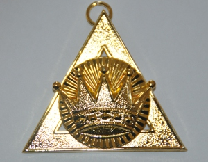 Royal Arch Chapter Officers Collar Jewel - 1st Principal - Z