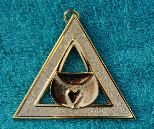 Royal Arch Chapter Officers Collar Jewel - Almoner