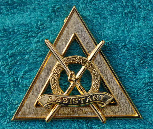 Royal Arch Chapter Officers Collar Jewel - Asst DC