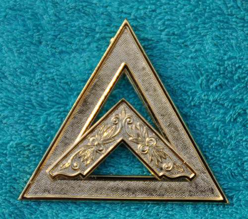 Royal Arch Chapter Officers Collar Jewel - Asst Sojourner