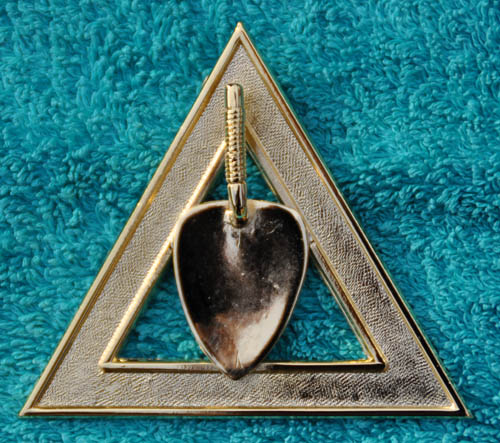 Royal Arch Chapter Officers Collar Jewel - Charity Steward