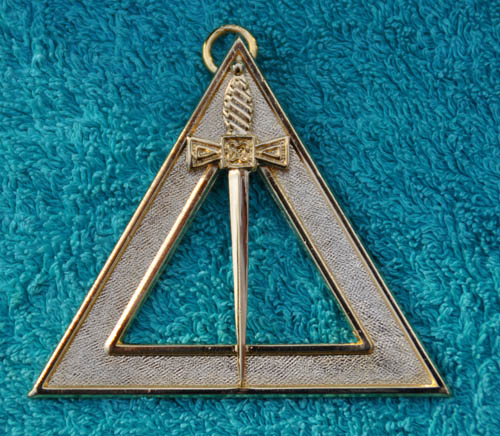 Royal Arch Chapter Officers Collar Jewel - Janitor