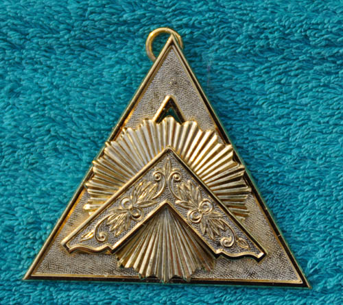 Royal Arch Chapter Officers Collar Jewel - Principal Sojourner