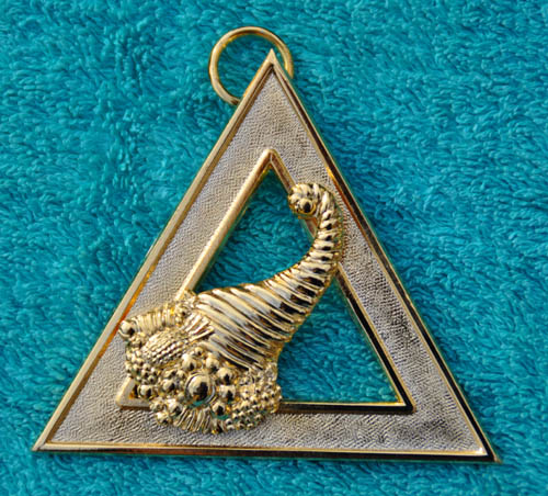 Royal Arch Chapter Officers Collar Jewel - Steward