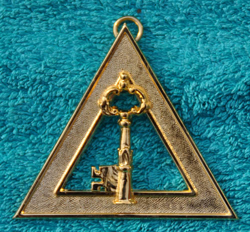 Royal Arch Chapter Officers Collar Jewel - Treasurer