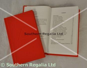 Royal Arch Rituals : Southern Regalia, Masonic Regalia