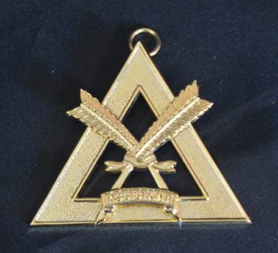 Royal Arch Chapter Officers Collar Jewel - Asst Scribe