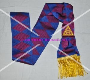 Royal Arch Principals Sash - Scottish