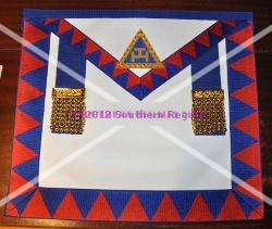 Royal Arch Provincial Apron & Badge - Leather