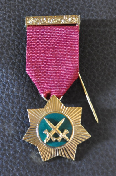 Royal Arch Red Cross of Babylon Breast Jewel - Knight