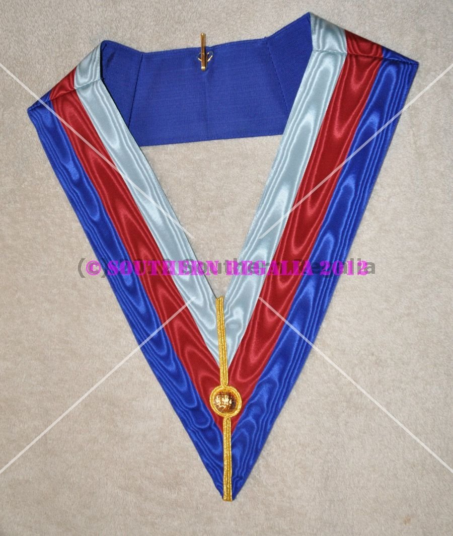 Royal Arch Supreme Grand Chapter Apron & Collar (Spanish)