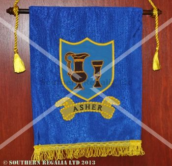 Royal Arch Tribal Banner / Ensign - Asher