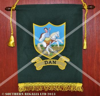 Royal Arch Tribal Banner / Ensign - Dan