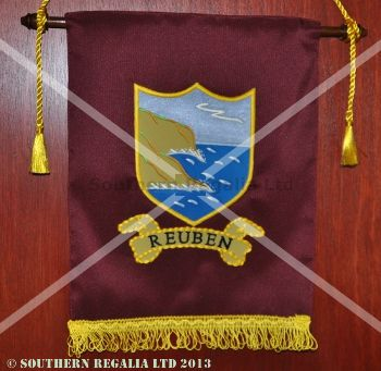 Royal Arch Tribal Banner / Ensign - Reuben