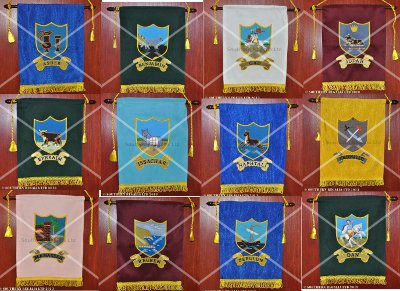 Royal Arch Tribal Banners / Ensigns (set of 12)