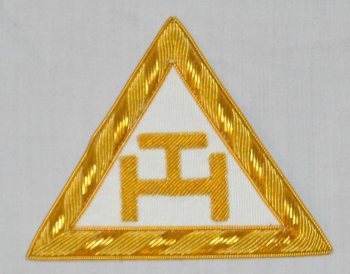 Royal Arch Triple Tau Embroidered Companions Apron Badge