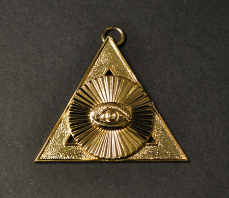 Royal Arch Chapter Officers Collar Jewel - 2nd Principal - H