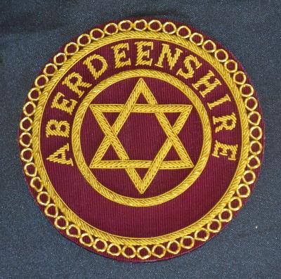 Royal Arch Provincial Apron Badge [Scottish Constitution] [RAS030P