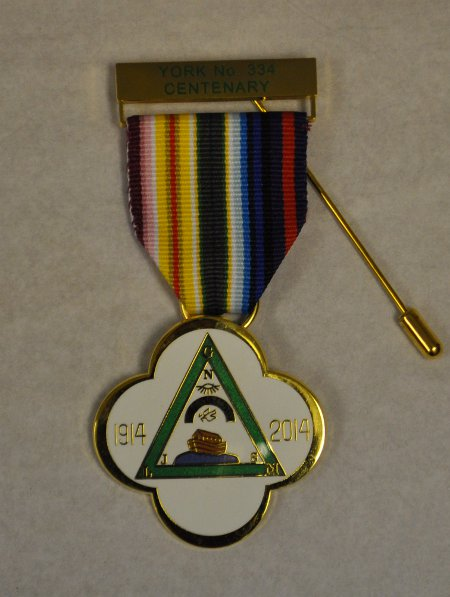 RAM Lodge Centenary Breast Jewel (60-69 items)