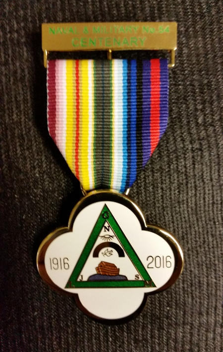 RAM Lodge Centenary Breast Jewel (30-39 items)