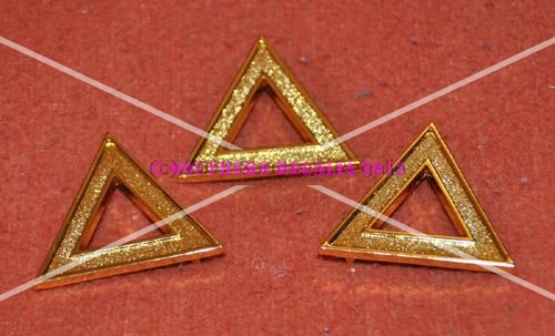 Royal Ark Mariner Grand Officers Apron Triangles [set of 3]
