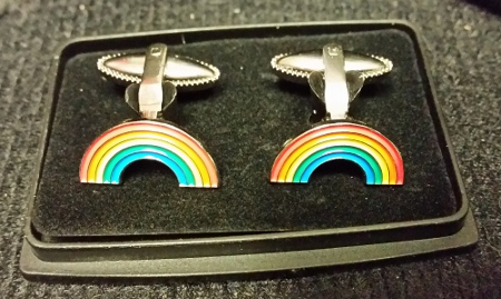 Royal Ark Mariner Rainbow Cufflinks