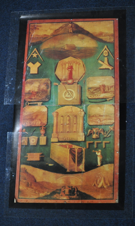 Royal Ark Mariners Tracing Board - Full Size - Unframed