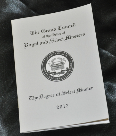RSM-5 Royal /& Select Master Council Treasurer Collar Jewel