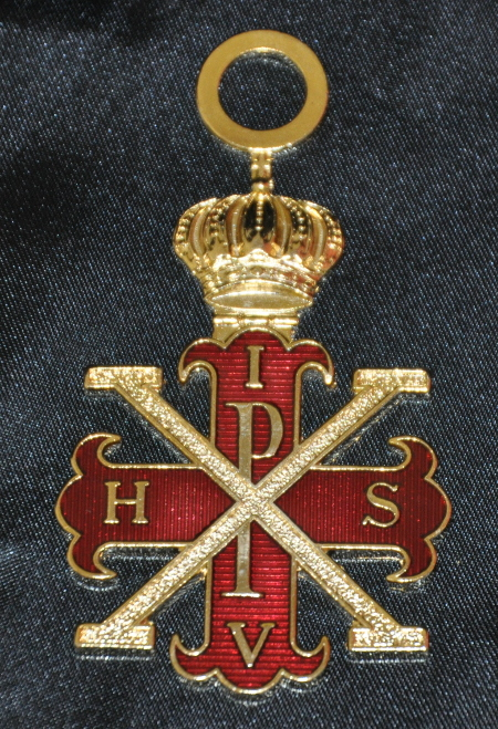Red Cross of Constantine Sovereigns Collarette Jewel