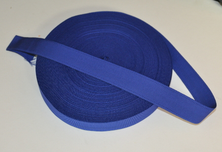 Craft Dark Blue Ribbon (Belt Ribbon) - 32 mm (per meter)