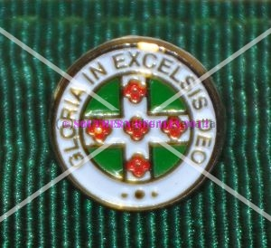 Royal Order of Scotland Gold Plated & Coloured Lapel Pin