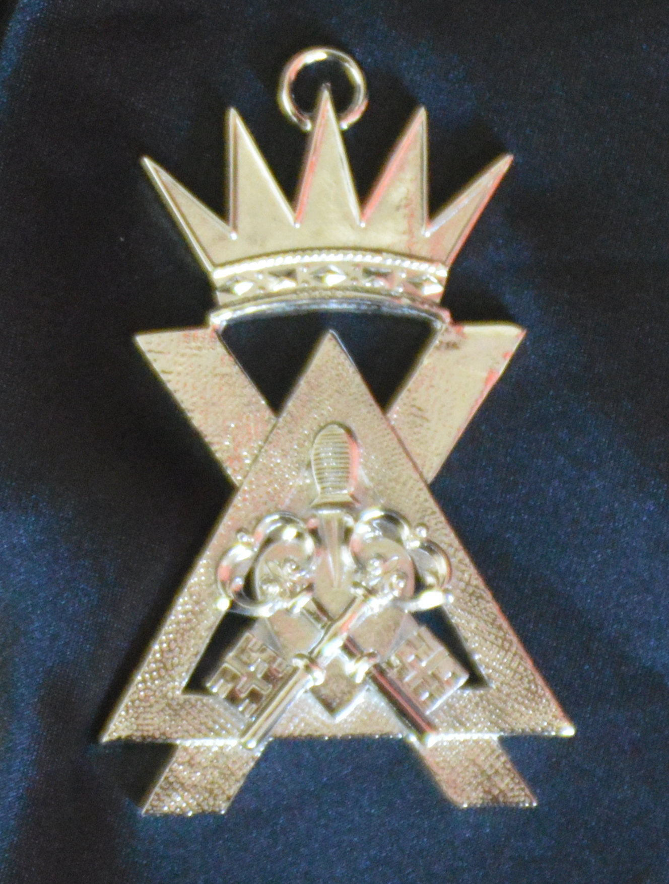 Royal & Select Masters Collar Jewel - Treasurer (Scottish)