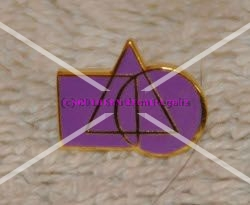 Cryptic Council Gold Plated Lapel Pin