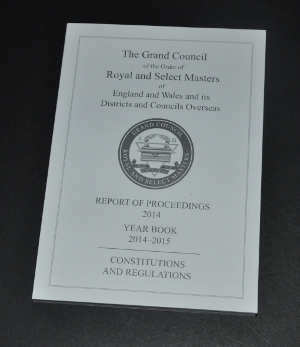 Royal & Select Masters - Constitutions & Regulations (2014-2015)