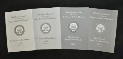 Royal & Select Masters - Set of 4 Council Rituals