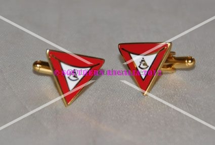 Royal & Select Master Past TIM Gold Plated Cufflinks