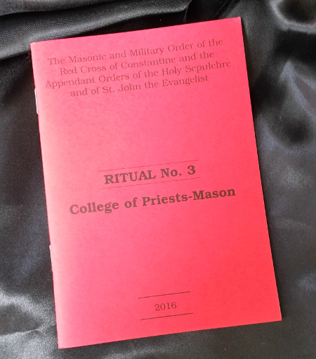 Red Cross of Constantine - Ritual No. 3 College of Priests-Mason