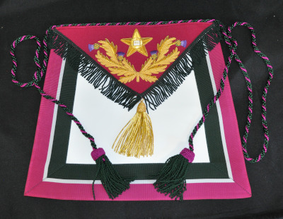 Royal Order of Scotland Apron - Substitute Grand Master