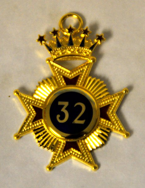 Rose Croix 32nd Degree Collar Jewel