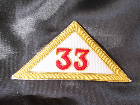 Rose Croix 33rd Degree Sash Badge