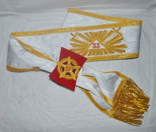 Rose Croix 33rd Degree Sash