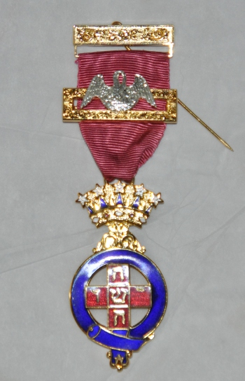 Rose Croix Past Sovereign Breast Jewel